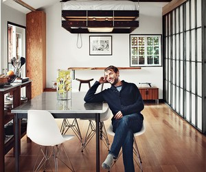 Inside The Home of Mad Men Actor Vincent Kartheise
