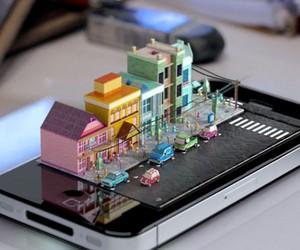 iPhone Diorama