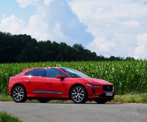 Testride with the new car jaguar i-pace