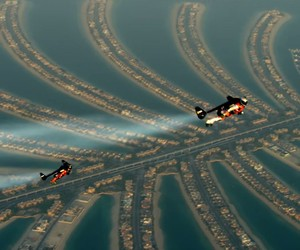 Jetpacking Over Dubai - Insane Video