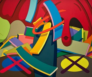 "KAWS & Erik Parker ""Pretty on the Inside"""