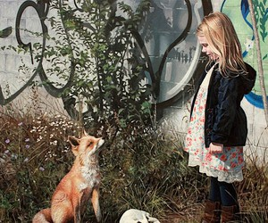 children and wild animals through a lost world