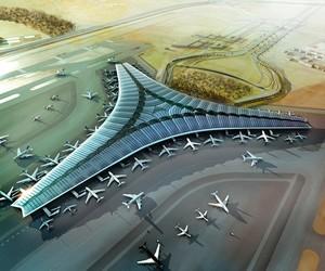 Kuwait's Sailboat-Inspired Airport