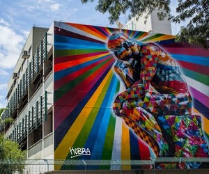 """The Thinker"" New Mural by Eduardo Kobra"