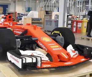 Model of Ferrari SF16-H in original size is ready