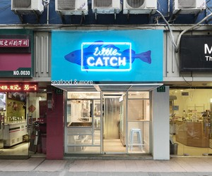 Little Catch Fishmonger in Shanghai by Linehouse