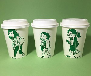 New adventures of the Starbucks logo
