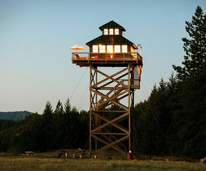 Lookout Tower Cabin