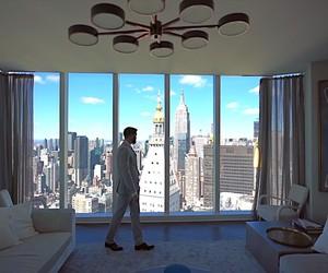 a 16.000.000$ luxus apartement