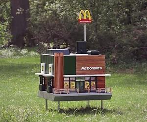 McDonalds tiny Bee restaurant