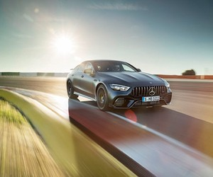 Mercedes - AMG introduces the GT 4 door coupe