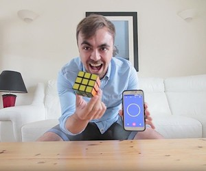 Mike Boyd learns to solve the rubik's cube