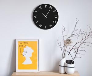 I'm Fucking Late Clock — Black Edition