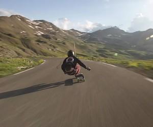 Josh Neuman longboard downhill highspeed