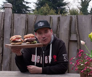 Surf&Turf Burger BBQ Video