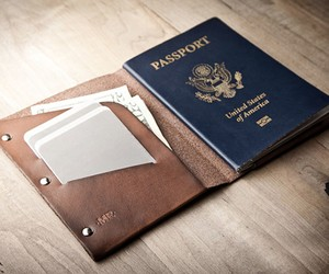 Leather Passport Wallet | by Mr.Lentz