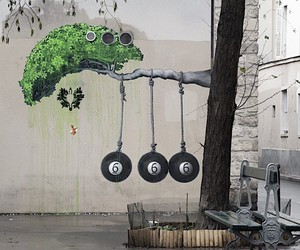Three new Murals by Ludo in Paris