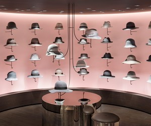New women's fashion and hat floor by nendo