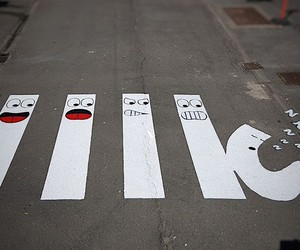 Crosswalks put street art at your feet