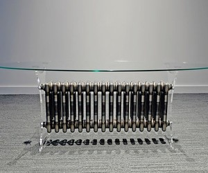 Age radiator gets 2nd chance as conference table