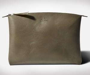 OLIVGRUN Leather Laptop Pouch