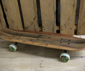 Skateboards Made From Recycled Pallets
