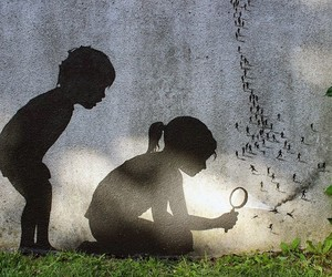 New Street Pieces by Pejac in Paris // France