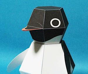 Wonder penguin from Japan