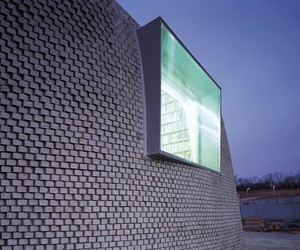 Pixel Concrete Brick Home Design