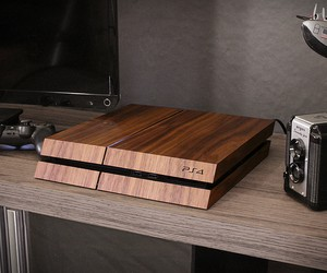 Playstation Wood Skin