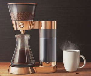 Poppy Pour-Over Coffee Maker