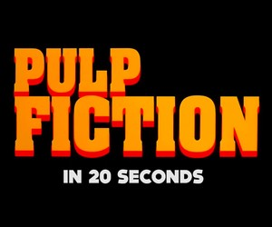 Pulp Fiction in 20 Seconds
