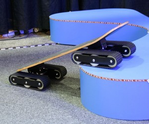 The Rockboard Descender Skateboard