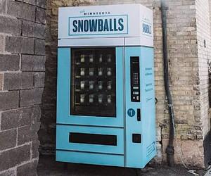 Snowball machine in Minnesota
