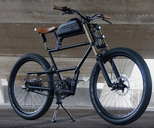 Timmermans Fietsen was inspired by a scrambler