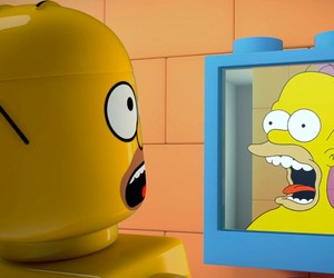Trailer for The Simpsons LEGO Episode
