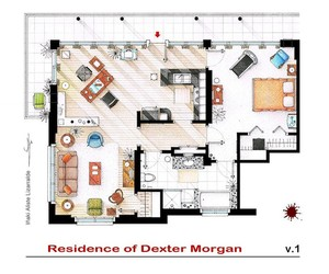 Detailed Floor Plans of Famous TV Shows
