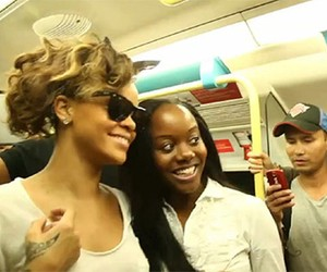 Celebrities on the Subway in New York City