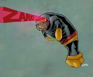 Superheroes as Manatees by Joel Micah Harris