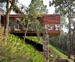 THE FOREST HOUSE IN MEXICO BY EMA