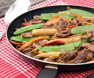 Thai Style Stir Fried Beef