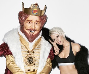 Terry Richardson shoots The King for Art Basel