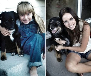 Then & Now Pictures of Animals growing up