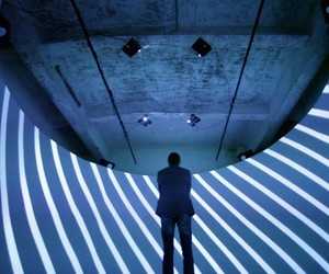 The Void audiovisual installation by Tundra