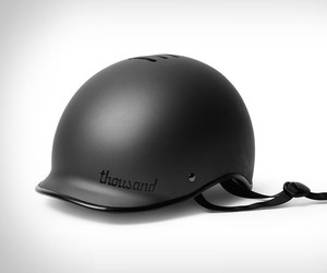 Thousand Stealth Black Bike Helmet