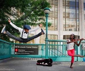 Jordan Matter lets children dance through the city