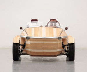 Toyota's Latest Concept Car is Made of Wood