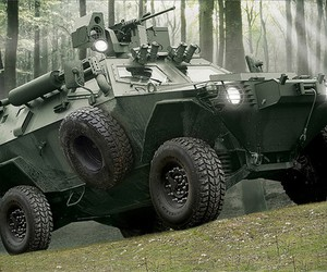 Otokar Cobra Armored ATV