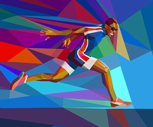2012 Olympic Games Illustrations by Charis Tsevis