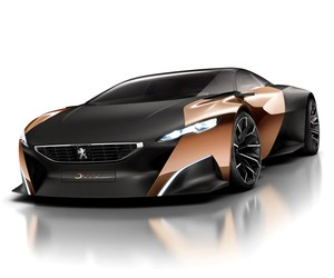 Peugeot ONYX, Concept